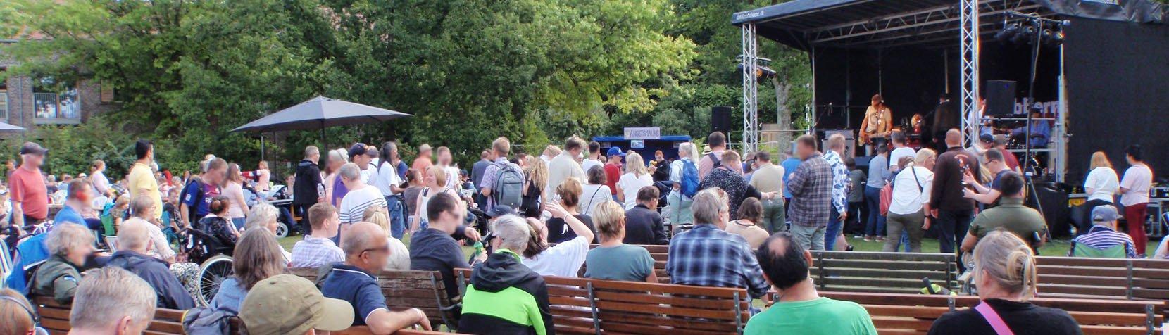 Shubberne optræder på Ebberød Musikfestival 2021