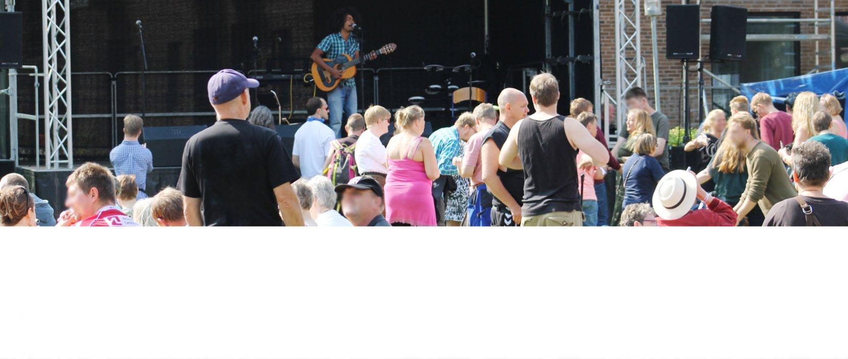 Frederik optræder på Ebberød Musikfestival
